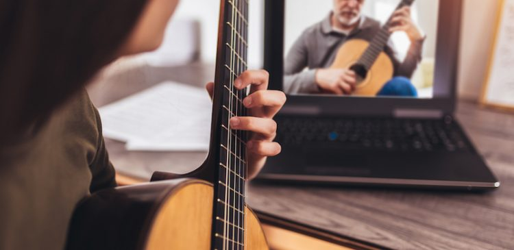 live online music lessons with BAH