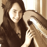 Emilie - Online Harp  teacher
